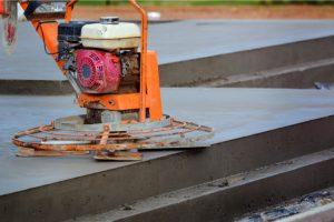 Portland concrete leveling machine