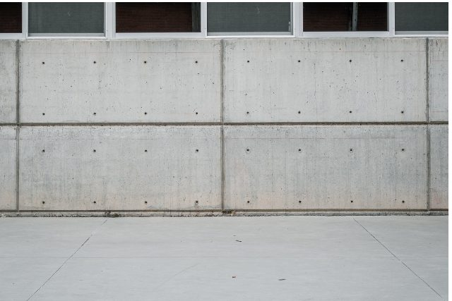 Concrete wall and floor in Portland